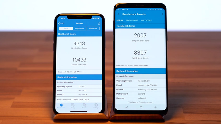 iphone-x-versus-samsung-galaxy-s9+