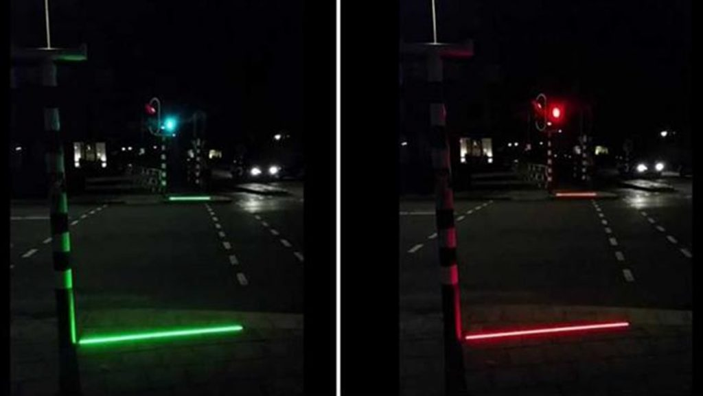 led sidewalk lines for smombies
