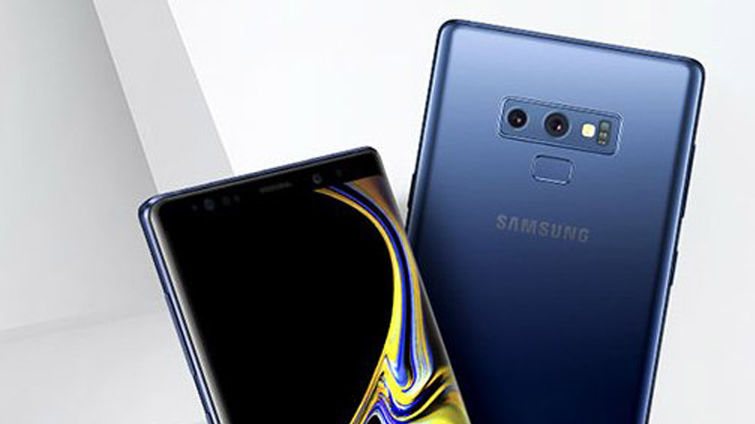 Render of Samsung Galaxy Note 9