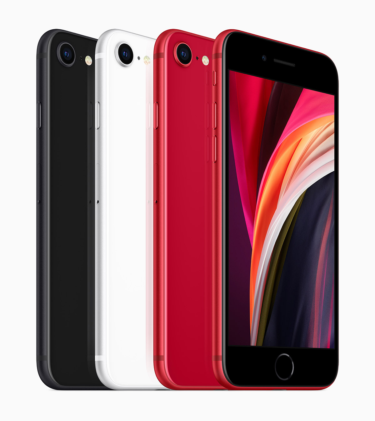 Apple_new-iphone-se-black-white-product-red-colors